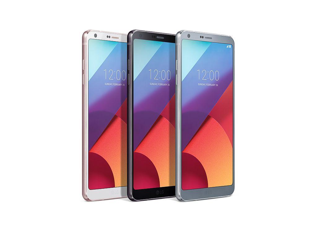 LG G6 több szinben