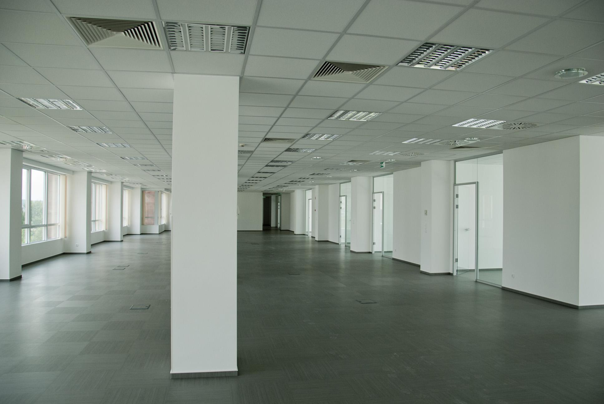 Az irodai környezet meghatározza a dolgozók hatékonyságát.