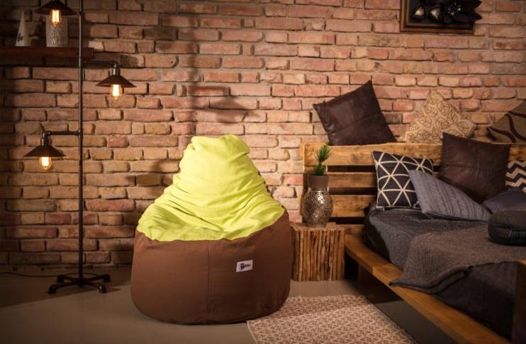 A babzsákfotel fantasztikus kényelmet biztosít.