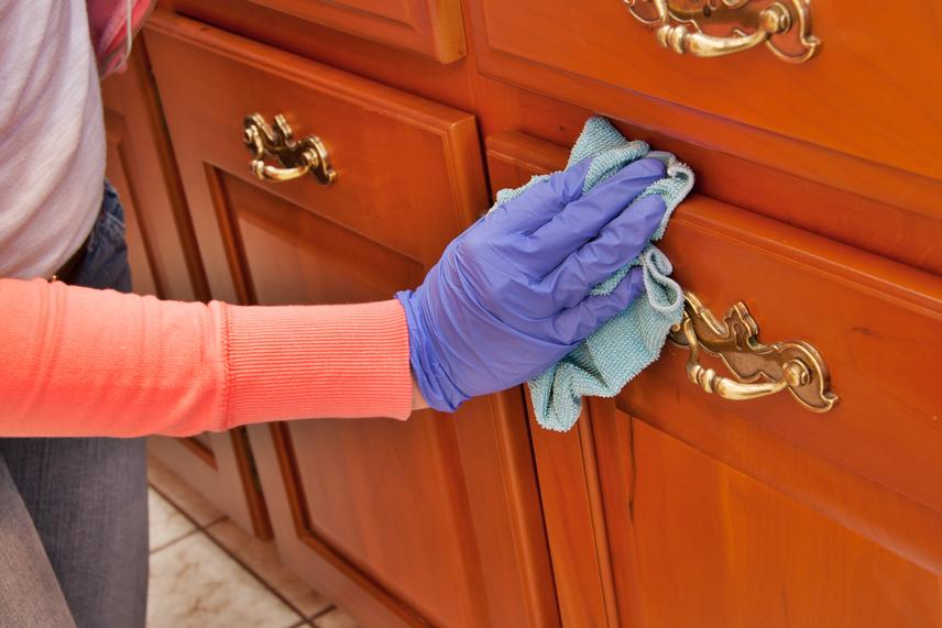 A bútorok ápolására számos házi praktika létezik.