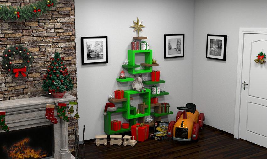 A karácsonyi kiegészítők meghitt hangulatot teremtenek.