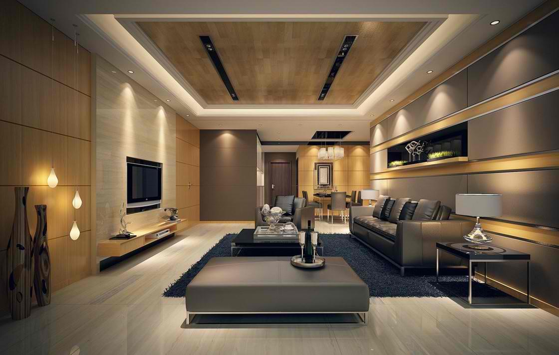 A bútorok megvilágítása exkluzív környezetet teremt.